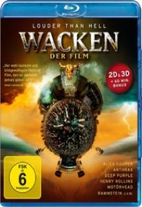 Wacken Louder Than Hell Der Film 3D 2D (Blu-ray 50GB)