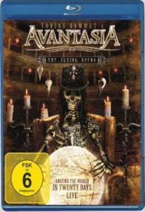 Avantasia The Flying Opera Around The World In 20 Days (Blu-ray)