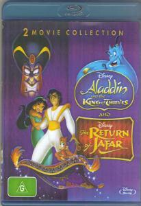 Возвращение Джафара / Аладдин и король разбойников (Blu-ray)