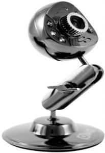 Вебкамера QbiQ PCM034,  1,3МП ,микрофон,подсветка, самофокусировка  USB