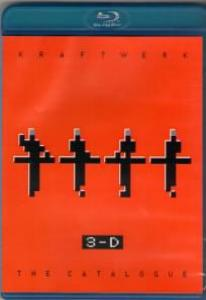 Kraftwerk 3D The Catalogue 2D 3D (Blu-ray)