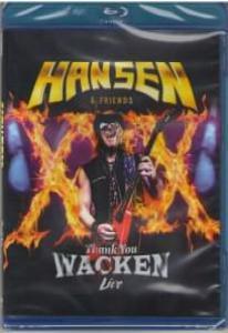 Hansen Friends Thank You Wacken Live (Blu-ray)