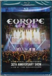 Europe The Final Countdown 30th Anniversary Show Live At The Roundhouse (Blu-ray)