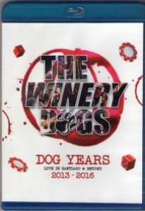 The Winery Dogs Dog Years Live In Santiago and Beyond 2013-2016 (Blu-ray)